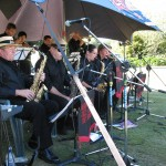 Manawatu Jazz Club Big Band at the MJC summer picnic