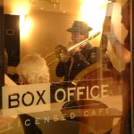Footnotes at the Box Office Cafe, 2003.